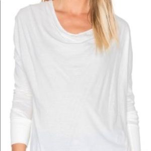 Bobi Long Sleeved Asymmetrical Top